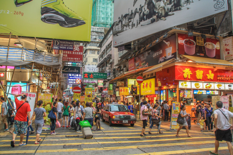 Straßen von Hongkong Travellers Insight Reiseblog