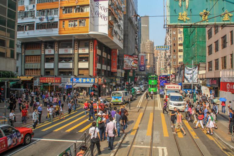 Travellers Insight Reiseblog Hongkong Yee Wo Street