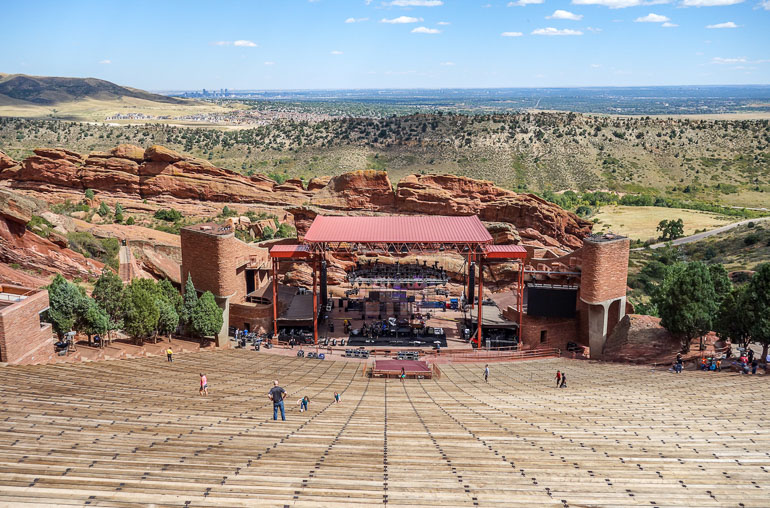 Travellers Insight Reiseblog Denver Red Rocks Amphitheater