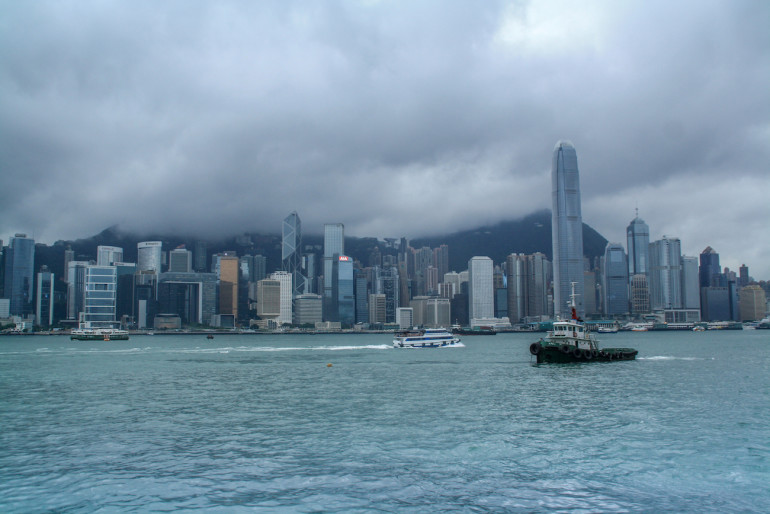 Travellers Insight Reiseblog Hongkong Skyline