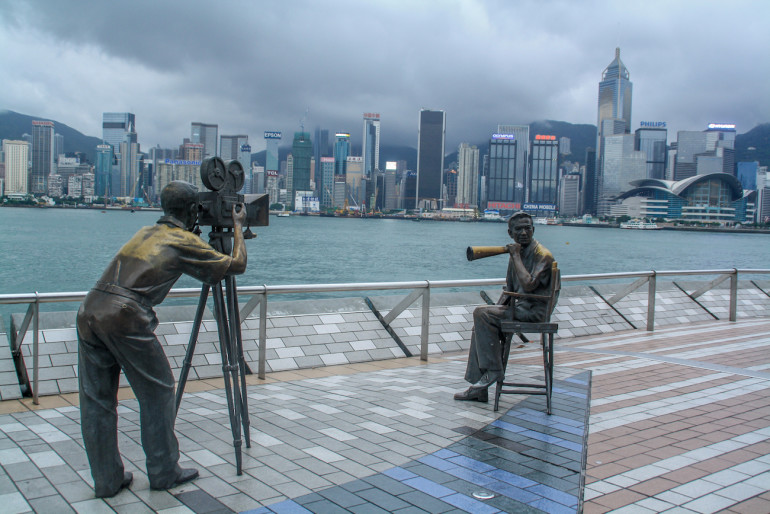 Travellers Insight Reiseblog Hongkong Avenue of Stars