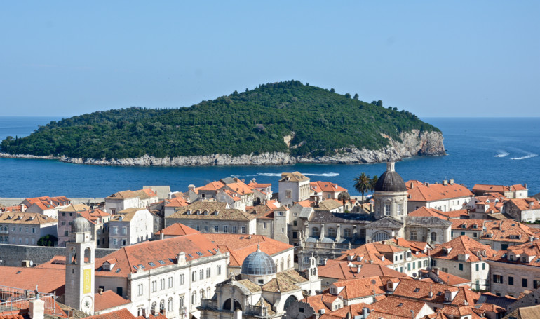 Dubrovnik Altstadt: Blick von der Stadtmauer