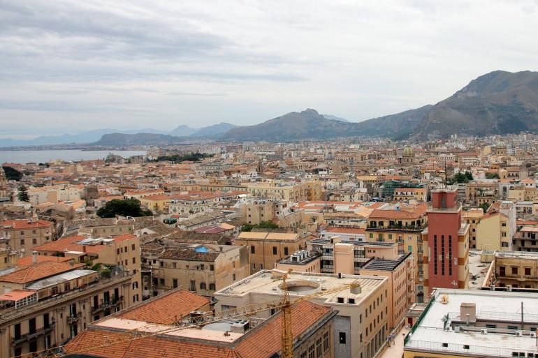 Travellers Insight Reiseblog Blick über Palermo