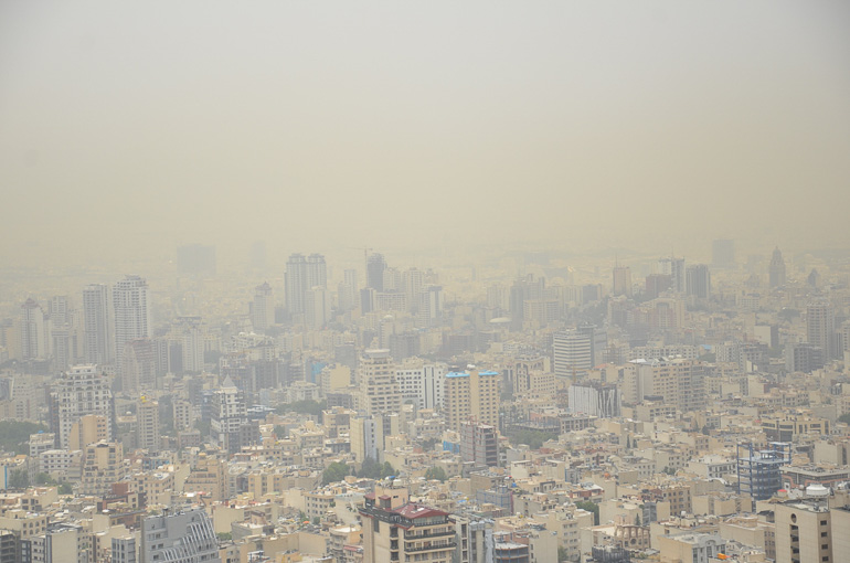 Travellers Insight Reiseblog Teheran Smog