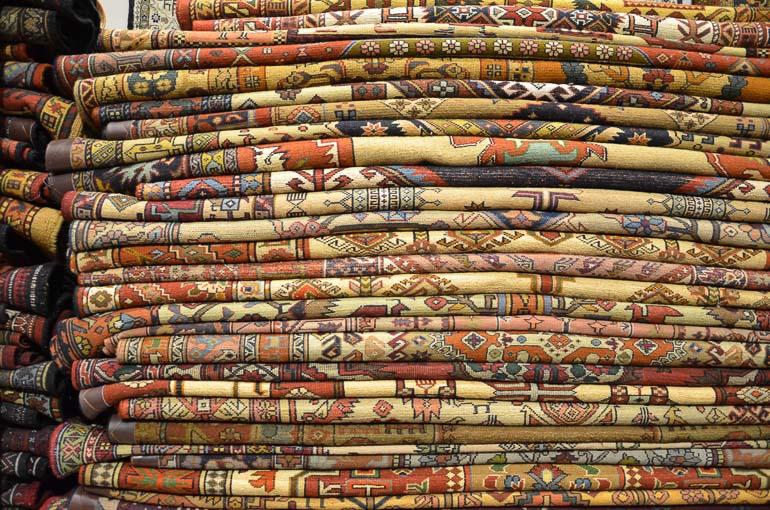 Travellers Insight Reiseblog Teheran Teppiche