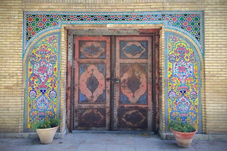 Travellers Insight Reiseblog Teheran Golestan Palast