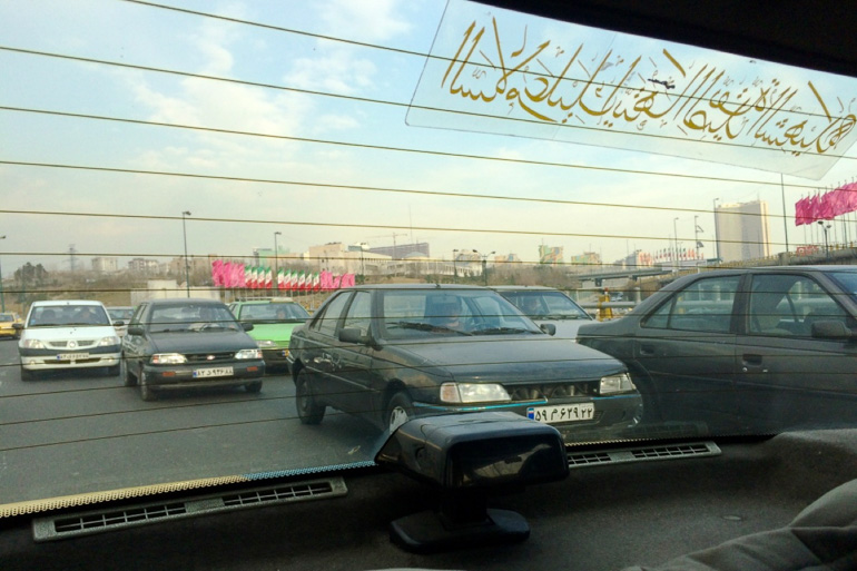 Travellers Insight Reiseblog Teheran Taxi