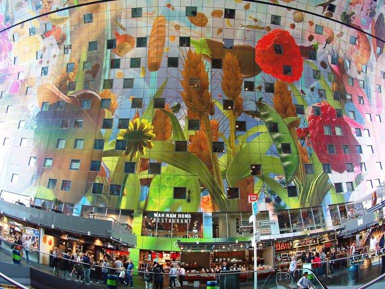 Travellers Insight Reiseblog Rotterdam Markthal