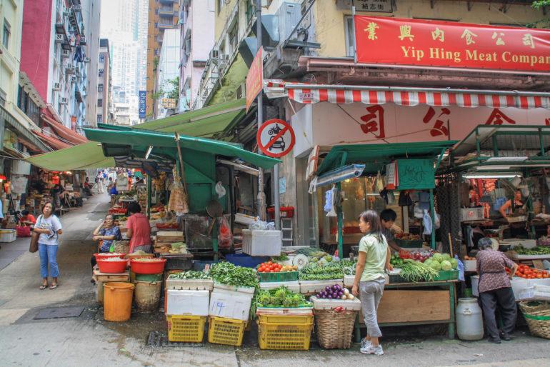 Travellers Insight Reiseblog Hongkong Markt