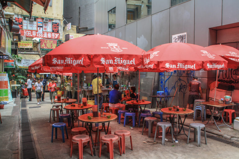 Travellers Insight Reiseblog Hongkong Garküche