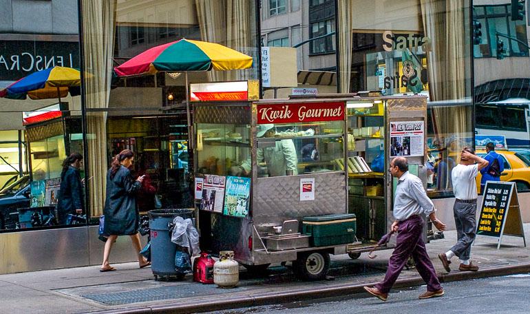 Fastfood weltweit New York