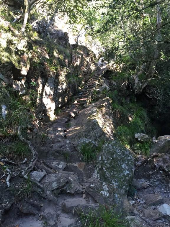 Travellers Insight Reiseblog Tafelberg Aufstieg