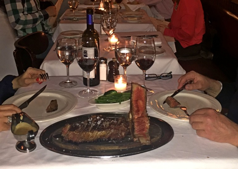 Porterhouse Steak Travellers Insight Reiseblog New York Keens
