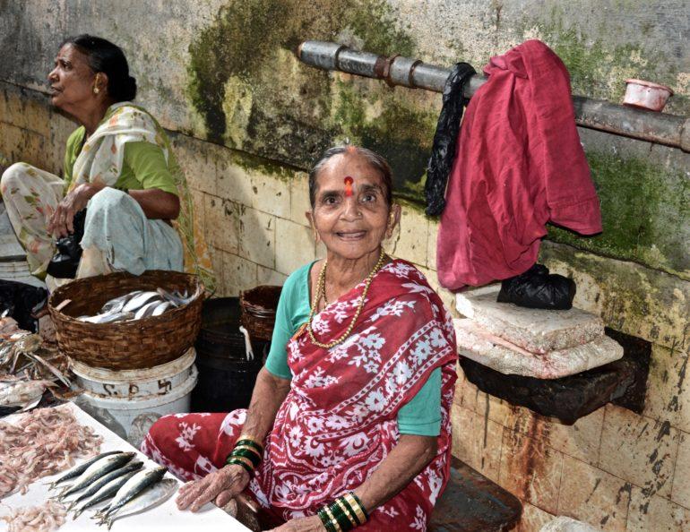 Mumbai Central Fischmarkt Koli