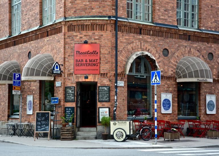 """Das Meatballs ist die erste und einzige """"Meatballeria"""" in Schweden."""