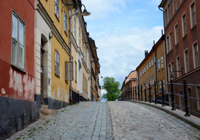 In den kopfsteingepflasterten Gassen in Södermalm ist die Zeit stehen geblieben.
