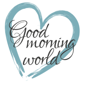 Logo Reiseblog Good morning world