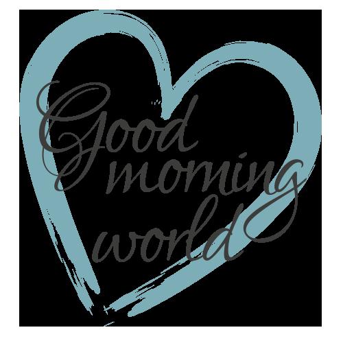 Logo Reiseblog Good morning world