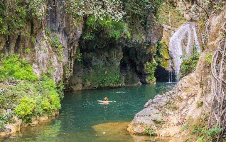 Travellers Insight Trinidad Kuba Wasserfall
