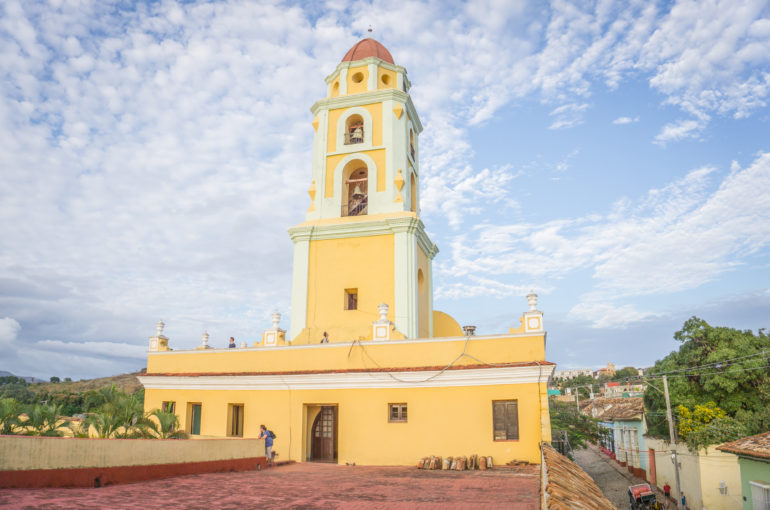 Travellers Insight Trinidad Kuba Kirchturm