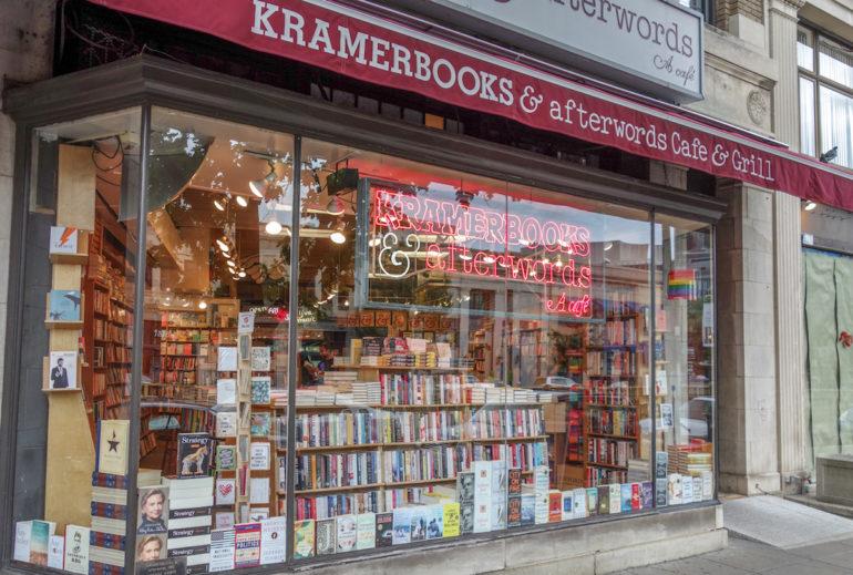 Travellers Insight Reiseblog Washington D. C. Kramerbooks & Afterwords