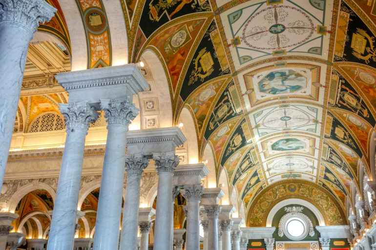 Travellers Insight Reiseblog Washington D. C. Library of Congress