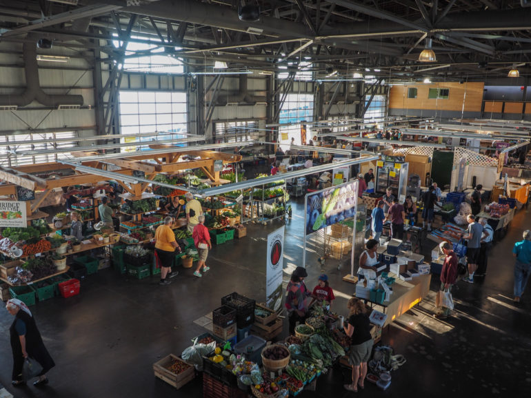 Travellers Insight Reiseblog Nova Scotia Leuchtturm Seaport Farmers' Market