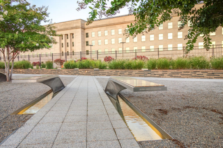 Travellers Insight Reiseblog Virginia Pentagon Memorial