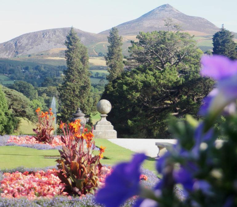 Travellers Insight Reiseblog Irland Roadtrip Powerscourt Gardens