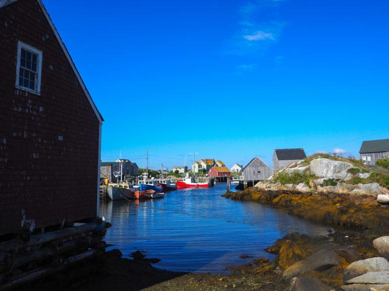 Travellers Insight Reiseblog Nova Scotia Leuchtturm Peggy's Cove