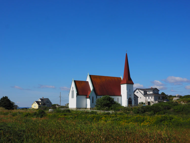 Travellers Insight Reiseblog Nova Scotia Leuchtturm Kirche