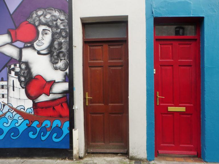 Travellers Insight Reiseblog Irland Roadtrip Streetart Cork