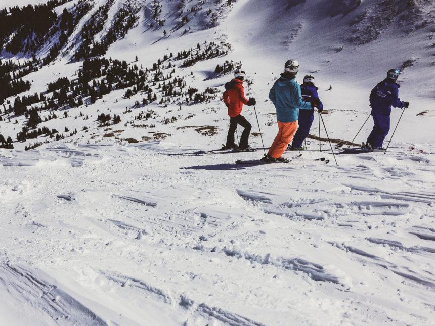 Travellers Insight Reiseblog Skifahren Vail Piste