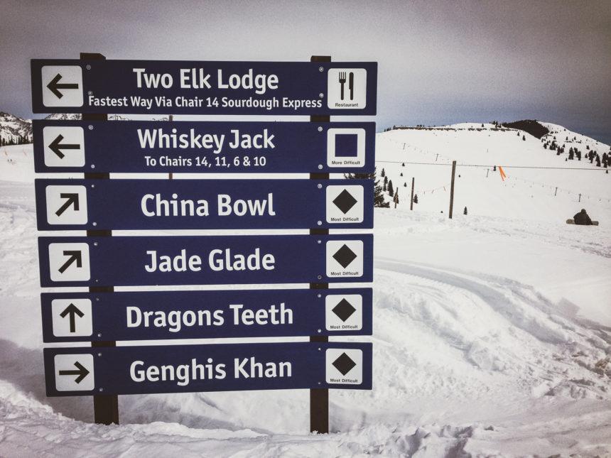 Travellers Insight Reiseblog Skifahren Vail Wegweiser