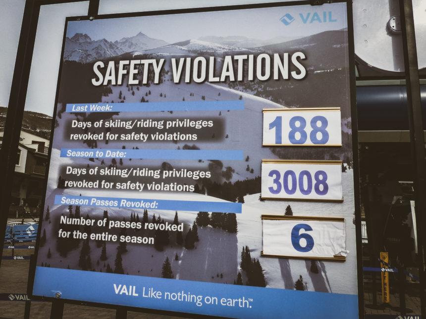 Travellers Insight Reiseblog Skifahren Vail Safety Violations