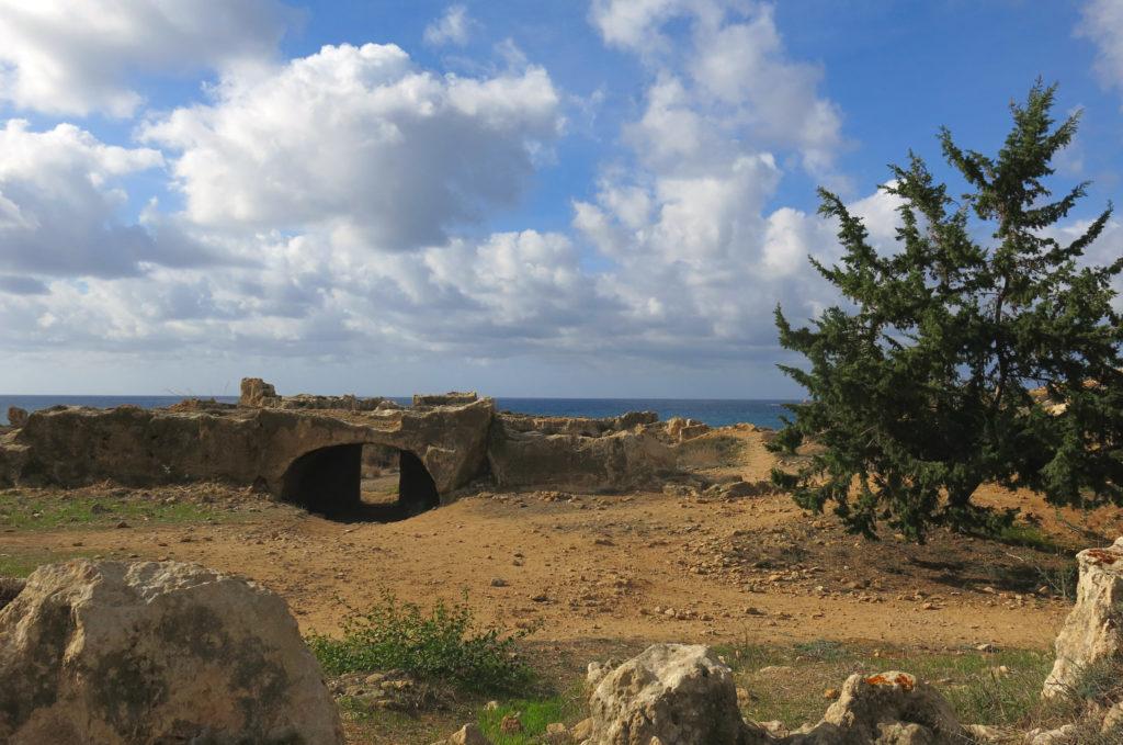 Die Königsgräber in Paphos gehören zu den Top Sehenswürdigkeiten auf Zypern.
