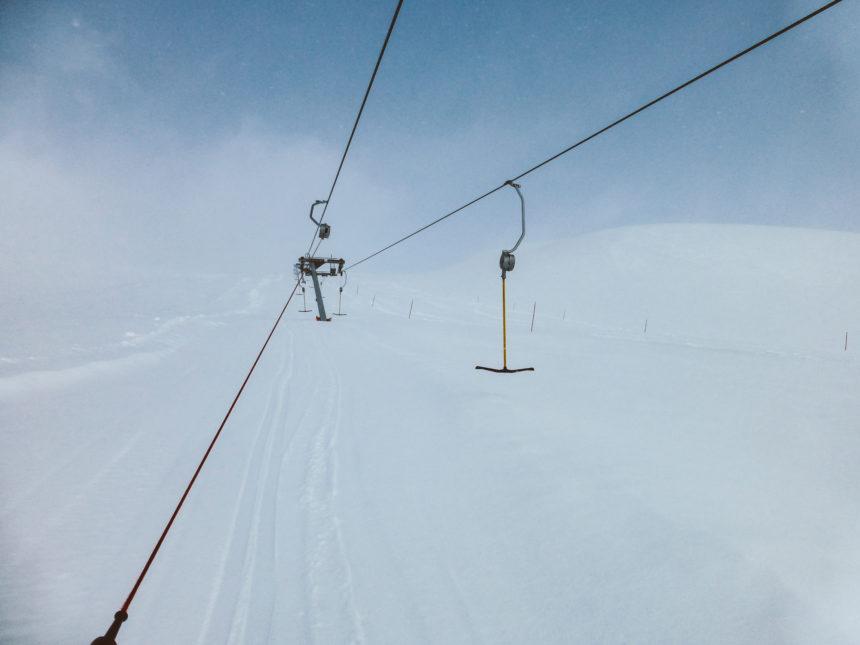 Travellers Insight Reiseblog Skifahren Norwegen Myrkdalen Skilift