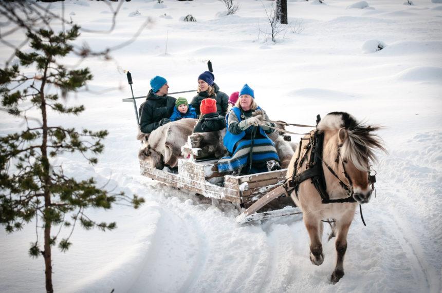 Skifahren Norwegen Trysil
