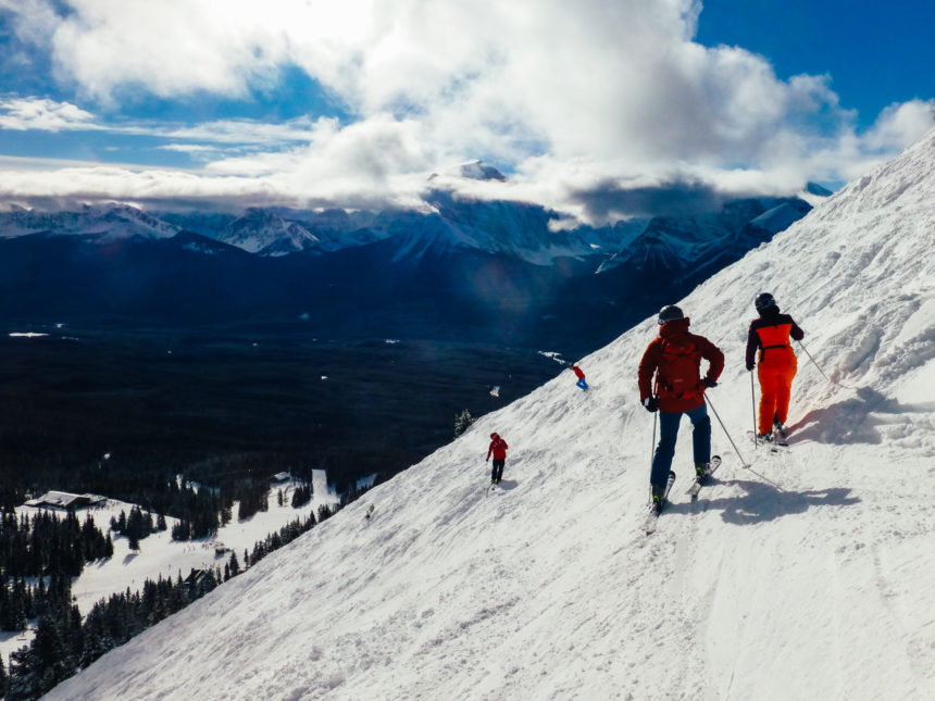 Travellers Insight Reiseblog Skifahren Kanada Lake Louise