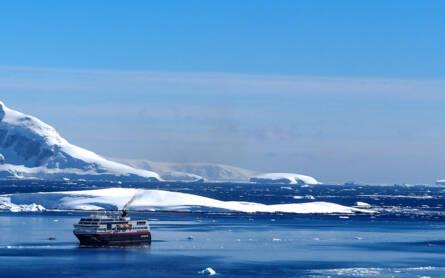 Eine Reise ins blaue Eis: Mit der MS Midnatsol von Chile in die Antarktis