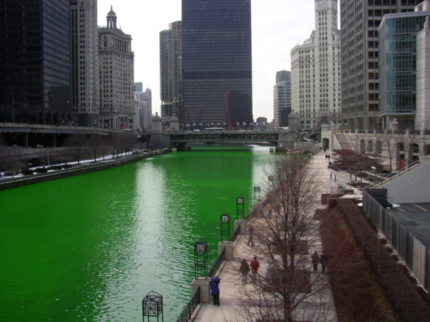 Travellers Insight Reiseblog St. Patrick's Day Chicago