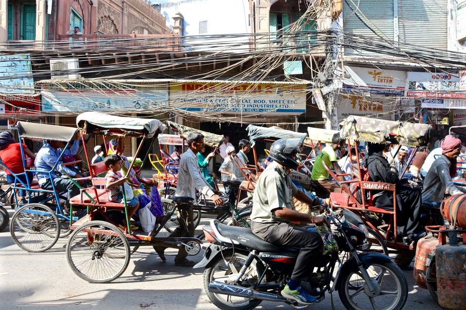 Delhi Old Dehli Chowri Bazar