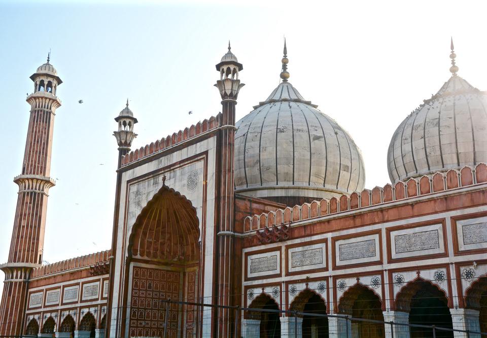 Delhi Old Delhi Jama Masjid