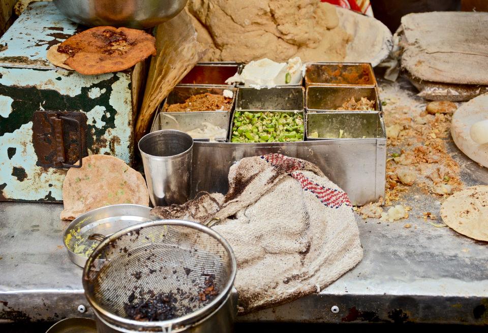 Delhi Old Delhi Chandni Chowk Street Food