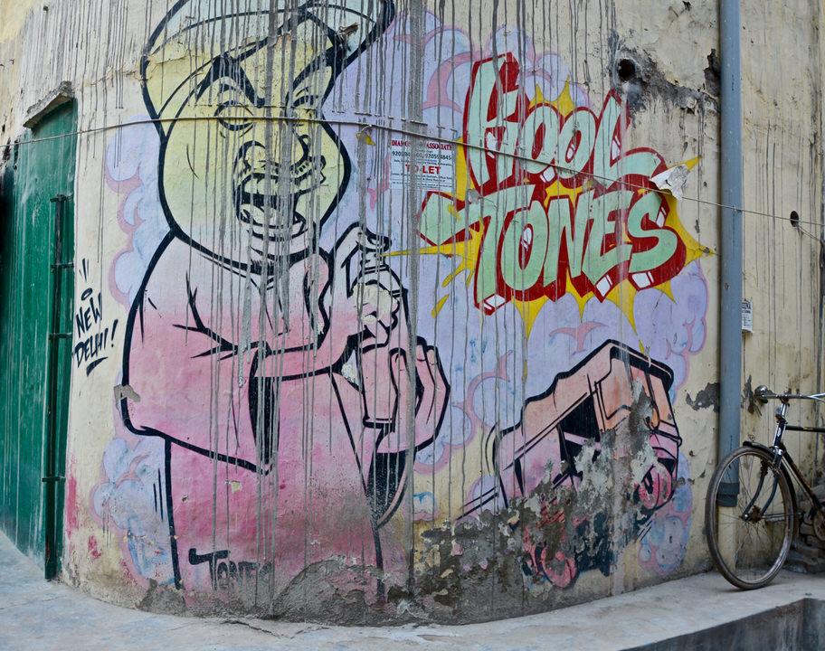 Delhi Shahpur Jat Street Art