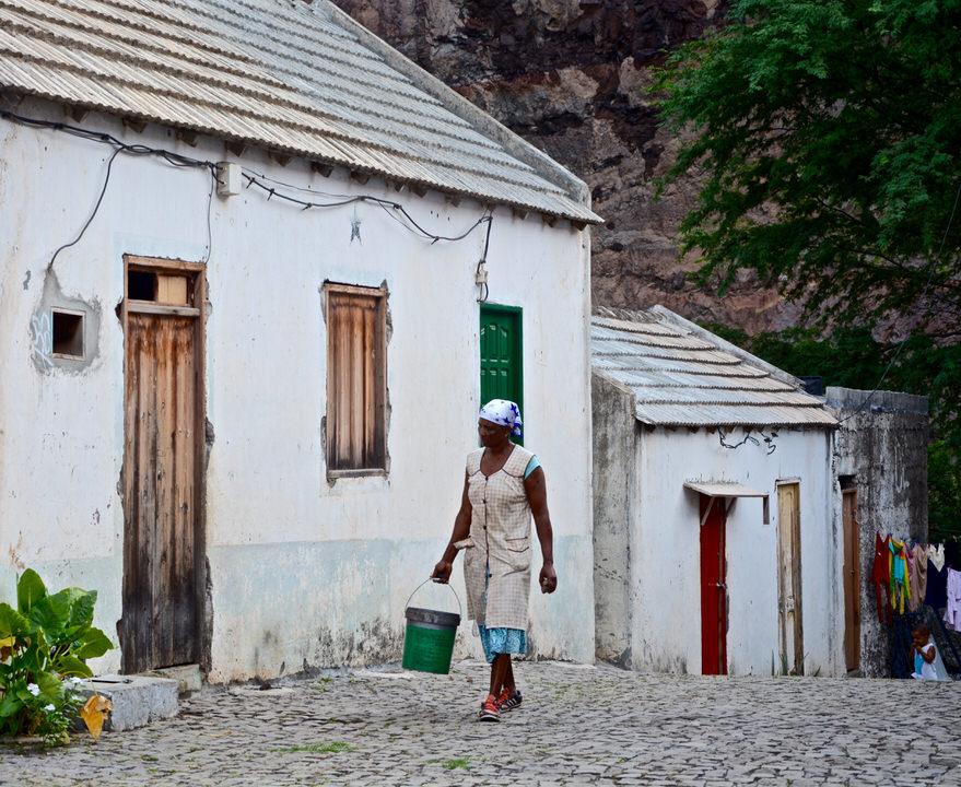 Kapverden Kapverdische Inseln Santo Antao Cha de Igreja