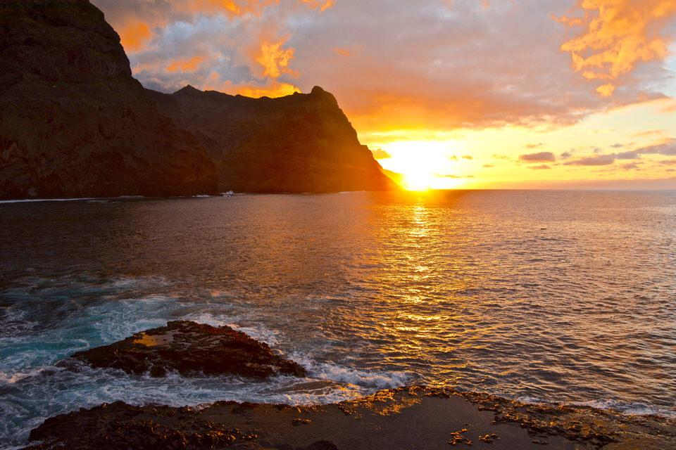 Kapverden Kapverdische Inseln Ponta do Sol Santa Antao
