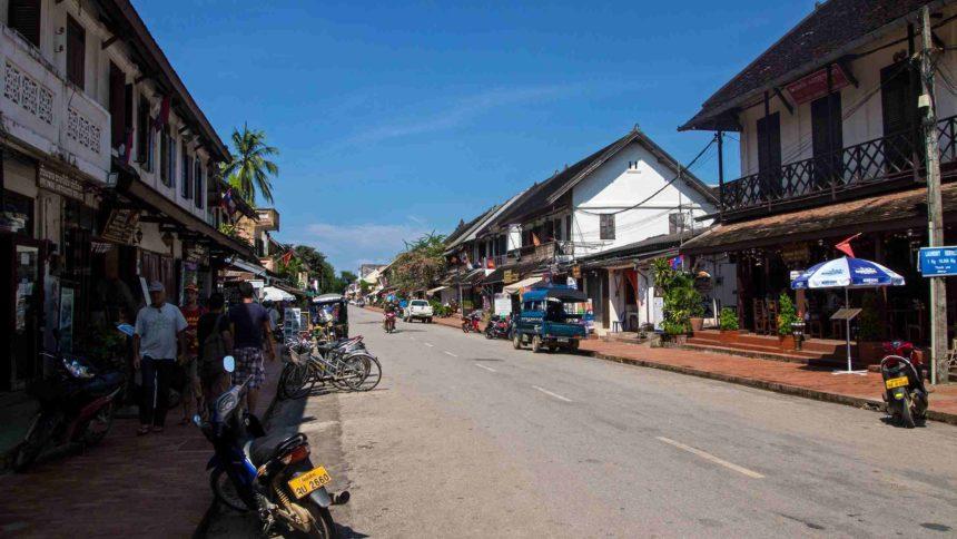 Laos Sehenswürdigkeiten Altstadt Luang Prabang