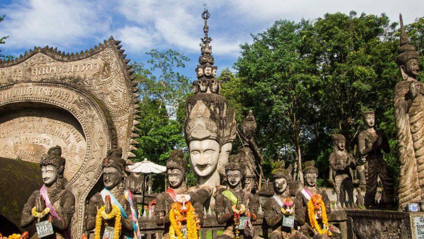 Thailand Sala Kaew Ku Travellers Insight Reiseblog von Bangkok nach Chiang Mai Reise durch Thailand