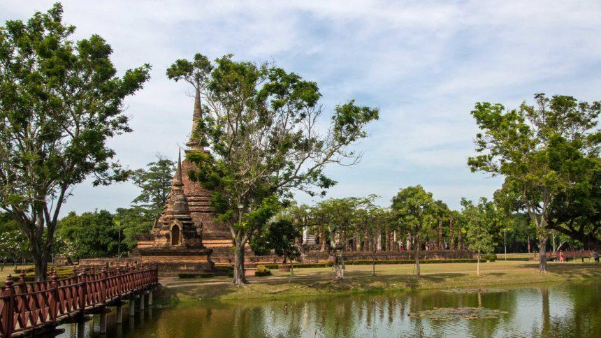 Thailand Wat Sa Si Travellers Insight Reiseblog von Bangkok nach Chiang Mai Reise durch Thailand